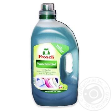 Средство для стирки Фрош жидкий для цветных тканей 5л - купить, цены на Novus - фото 2