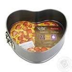 Форма для випічки Krauff роз'ємна серце 21х20x6,5см