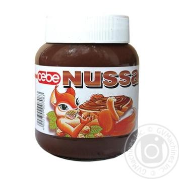 Cebe Nussa Nut And Chocolate Cream 400g - buy, prices for Novus - image 1