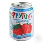 Напій Фрутінг з полуничним соком 238мл - купити, ціни на МегаМаркет - фото 1
