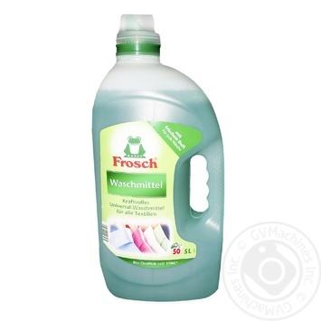 Средство для стирки Фрош жидкий для цветных тканей 5л - купить, цены на Novus - фото 1