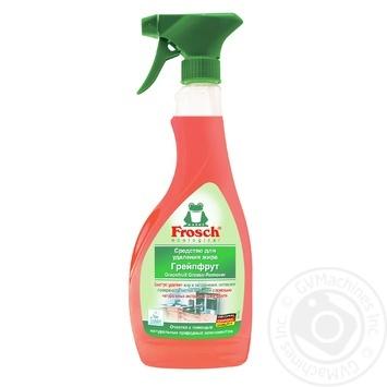 Очиститель Frosch Грейпфрут натур.экстракт универ 500мл - купить, цены на МегаМаркет - фото 1