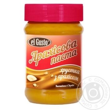 Паста арахисовая El Gusto 270г - купить, цены на Novus - фото 1