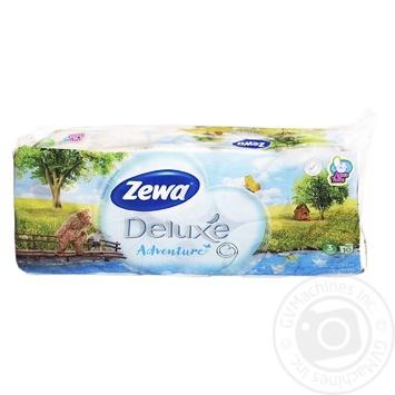 Туалетная бумага Zewa Сезон белая трехслойная 10шт - купить, цены на Novus - фото 2