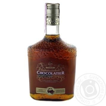 Напиток алкогольный Шустов Шоколатье Шоколад и Вишня 30% 0,5л - купить, цены на СитиМаркет - фото 2