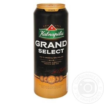 Пиво Kalnapilis Grand в жестяной банке 5,4% 0,5л