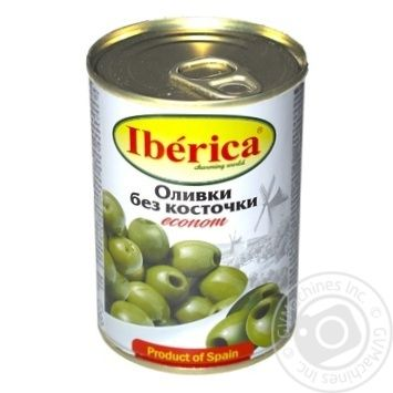 Iberica Econom pitted green olive 280g