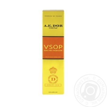 Коньяк A.E.Dor VSOP 40% 0.7л - купити, ціни на CітіМаркет - фото 1