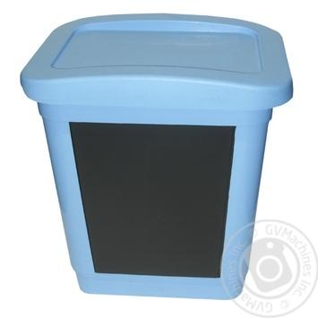 Відро для сміття Heidrun з кришкою і педаллю 2л в асортименті - купити, ціни на МегаМаркет - фото 2