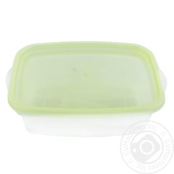 Контейнер для пищевых продуктов Пластторг прямоугольный 0,5л цвета в ассортименте - купить, цены на МегаМаркет - фото 1