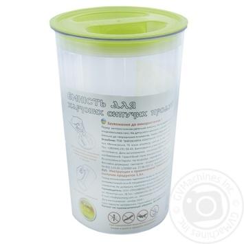 Контейнер Пластторг для сыпучих продуктов 1.6л