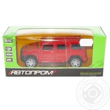 Іграшка Машина Автопром 1:32 метал. 3239