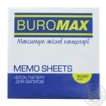 Блок бумаги Buromax Зебра для заметок 90х90х40мм