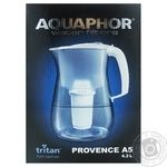 Aquaphor Provence filter jug black 4.2l