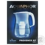 Фильтр-кувшин Aquaphor Прованс черный 4,2л