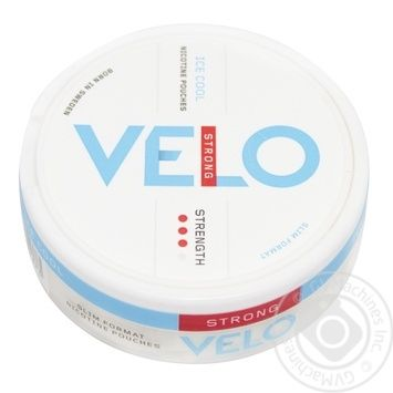 Никотиновые подушечки Velo Ice Cool Strong