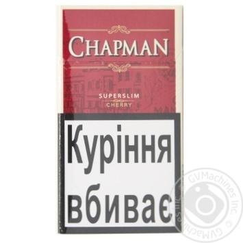 Сигарети Chapman Cherry Superslim