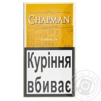 Сигареты чапман заказать сигареты оптом купить в ставропольском крае