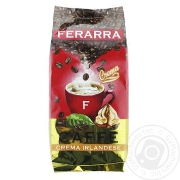 Кофе Ferarra Crema Irlandese в зернах 1кг - купить, цены на МегаМаркет - фото 1