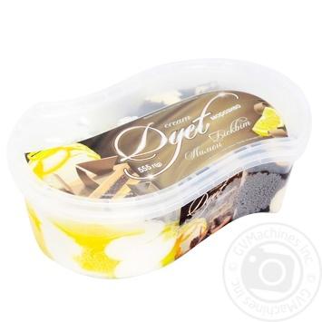 Мороженое Cream Dyet Бисквит лимон 555г