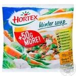 Смесь овощей Зимний суп Hortex 450г