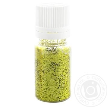 Glitter shakers Zibi golden for decorating 7g - buy, prices for Novus - image 1