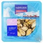 Мидии Norven в чесночном соусе 170г
