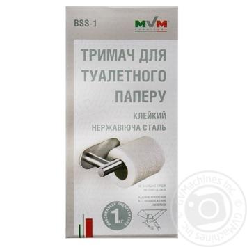Тримач для туалетного паперу нержавыюча сталь BSS-1