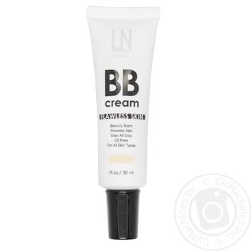 Крем ББ для обличчя LN Professional 02 30мл - купить, цены на МегаМаркет - фото 1