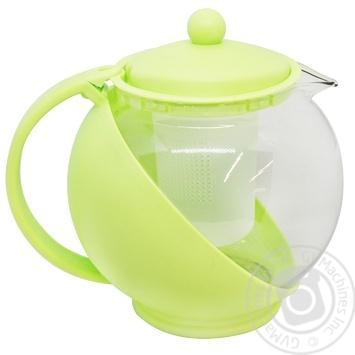 Чайник заварочний Banquet Bulbus 1,25л в асортименті - купити, ціни на МегаМаркет - фото 3