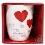 Ceramia Love Time Ceramic Cup 360ml