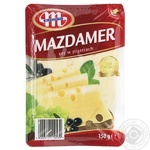 Cheese Mlecovita Mazdamer sliced 45% 150g - buy, prices for Novus - image 2