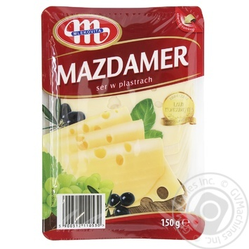 Cheese Mlecovita Mazdamer sliced 45% 150g - buy, prices for Furshet - image 2