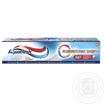 Aquafresh Complex Daily Protection Toothpaste - buy, prices for Furshet - image 1