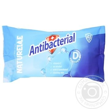 Салфетки влажные Naturelle Antibacterial с D-пантенолом 15шт. - купить, цены на МегаМаркет - фото 1