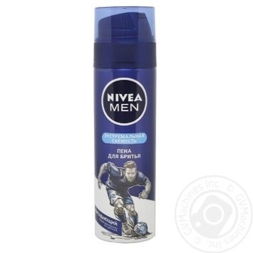 Foam Nivea for shaving 200ml - buy, prices for Novus - image 1