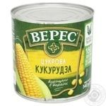 Кукурудза Верес цукрова 340г - купити, ціни на МегаМаркет - фото 2