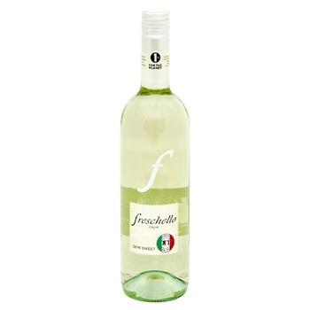 Вино Freschello Bianco белое полусладкое 10,5% 0,75л