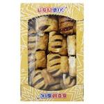 Печенье Бом-Бик Безумное с черносливом слоеное 400г
