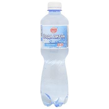 Вода Вигода негазована 0,5л