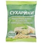 Сухарики Выгода Холодец с хреном пшенично-ржаные 100г