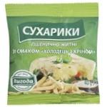 Сухарики Выгода Холодец с хреном пшенично-ржаные 40г