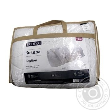 Ковдра Дормео Карбон 200х220 (Ua) - купити, ціни на МегаМаркет - фото 1