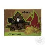 Розпалювач з деревної шерсті Drova Bobra10шт