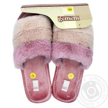 Взуття домашнє жіноче Gemelli Троянди р.36-40 - купить, цены на Novus - фото 1