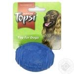 Игрушка для животных Topsi Мяч регби для закусок резина 107