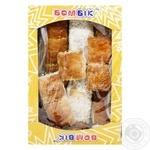 Bom-Bik Unusual With Coconut Puff Pastry Cookies 250g