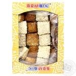 Печенье Бом-Бик Необычное слоеное с кунжутом 250г
