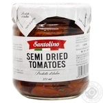 Santolino Semi-Dried In Oil Canned Pasteurized Tomatoes 180g