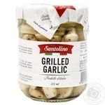 Santolino Grilled In Sunflower Oil Canned Pasteurized Garlic 190g